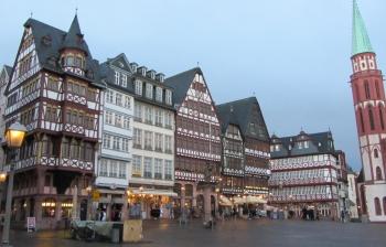 Wandering through Frankfurt