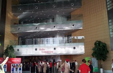 Safety training @ Emirates Aviation College